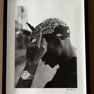 Tupac Print