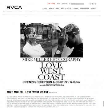 RVCA Love West coast Interview