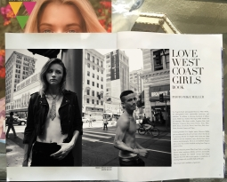 VVV Magazine article on Love West Coast Girls Book