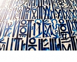 Retna… A rare look inside the artist Los Angeles Art studio